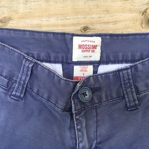 Mossimo Supply Co. Shorts - Navy Blue Low Rise Shorts